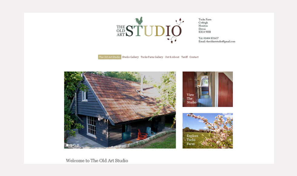 The Old Art Studio Homepage